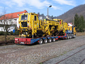 Transportation of oversized, heavy loads and Tamping machine {in Bulgaria and Europe} for Rent