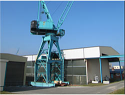 Used Harbour Crane 60 t / made in EU  {Year of construction - 1971, track width - 7 m} for Sale