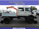 New Mercedes-Benz Unimog U5000 & Rail/Road {Production 2015 year,  crane Atlas, 4x4, rail/road, Euro 3} for Sale