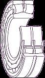 REM-20214 FAG Roller bearing (Replace Plasser 201214)