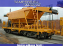 REBUILT 2012 Conveyor and Hopper Cars 22 t {1981-1982 year production, Rebuilt 2012, 6 units } - 1435 gauge for Sale