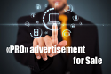 The publication «PRO» ADVERTISEMENT for Sale = 394 euro/month* = Package Pro «20 Add»