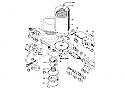 REM.90187DSR Repair kit (Replace Plasser 90187DSR)