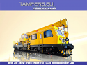 REM.25t New Track crane 25t (1435 mm gauge) for Sale {I generation}