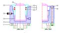REM.JT50.450 Опорен цилиндър (Заменя Plasser JT50.450(B) или UD 50 IK)