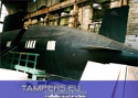 Wooden Submarine Model for Sale