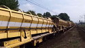 Plasser Conveyor and Hopper Cars MFS-100 {10 unit in 1435 mm gauge} for Rent (Europa)