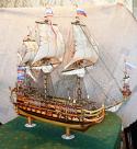 "Handmade model ships ""Goto Predestination"""