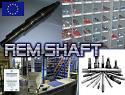 REM.CU20.1102 (CU20.1102) Vibration shaft {Replace Plasser CU20.1102}