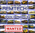 Buy or sell your used Plasser&Theurer or Matisa track maintenance machine directly via our TAMPER.EU Trading platform {Wanted railway equipment List 04.2018}