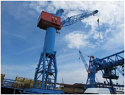Used Harbour Crane 40 t / made in EU  {Year of construction - 1965, track width - 7 m} for Sale